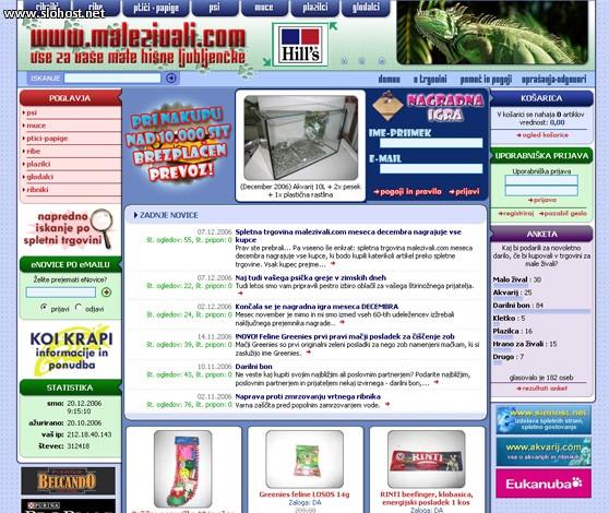 spletna trgovina malezivali zoo in vrt zaki