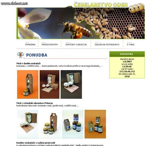 cebelarstvo oder pridelava in predelava medu