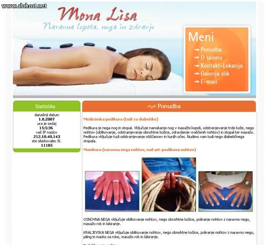 masaza manikura pedikura mona lisa
