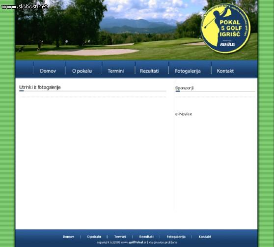 golfpokal predloga