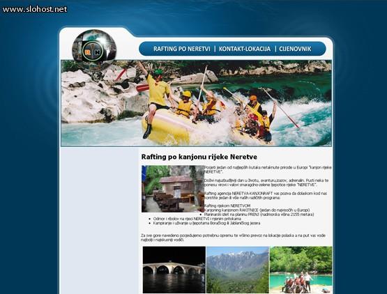 rafting-po-neretvi-izdelana-spletna-stran