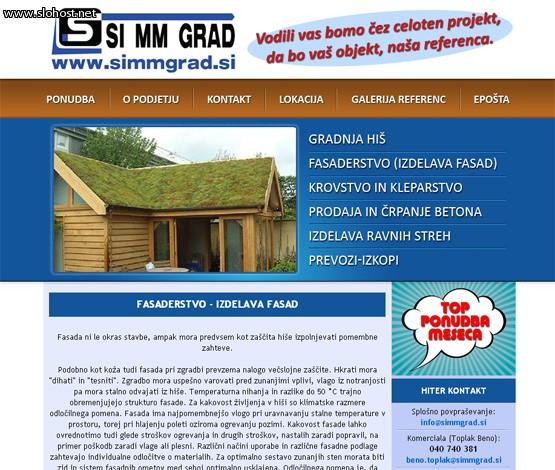 spletna stran gradnja-his-fasaderstvo-simmgrad